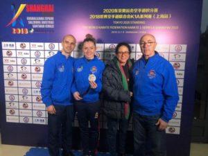 Cristina Ferrer logra la medalla de plata en la Serie A de Shanghai