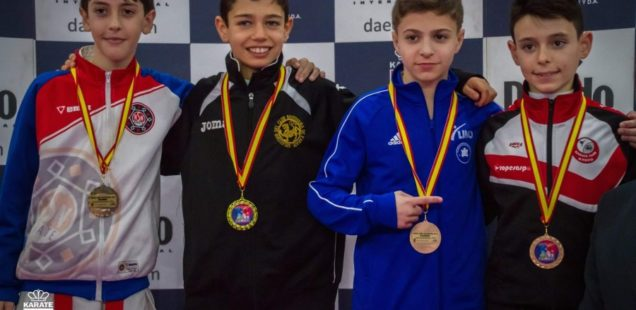 Nicolás Rodríguez, bronce en la Liga Nacional de Karate
