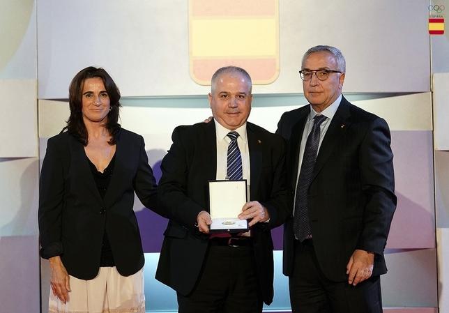 Antonio Moreno ya tiene la Orden Olímpica