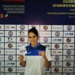 La karateca Ruth Lorenzo puntúa para las Olimpiadas de Tokio 2020