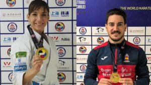 Sandra Sánchez y Quintero, oro en katas en Shanghái