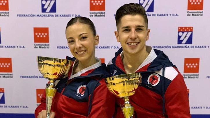 Sergio Galán y Lidia Rodríguez culminan un 2018 repleto de éxitos en el kárate