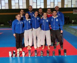 El karate de Torremolinos se hace con once medallas en el Campeonato de Andalucía Senior