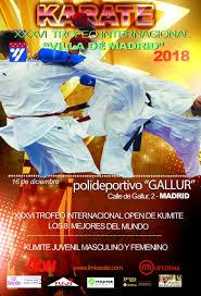 La Latina acoge el Trofeo Internacional de Karate Villa de Madrid 2018