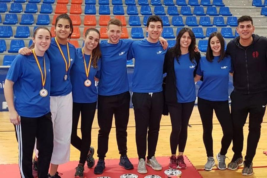 Cuatro medallas para el Hiroshima Prado Sport en el Autonómico de Kárate
