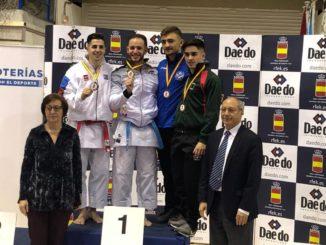 Pepe Carbonell se hace con el oro y Valencia, con el trono del Kárate en España