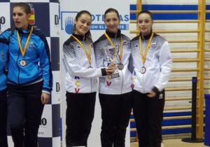 Carla Riestra logra el bronce en el Campeonato de España