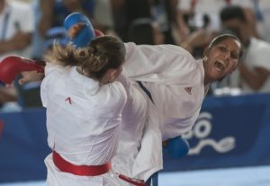 Kárate cubano por puntos clasificatorios para Olimpiada de Tokio