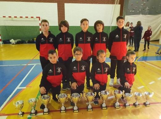 El Goju Ryu Torremolinos consigue once medallas en el campeonato provincial de kárate