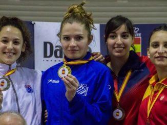 Karen Jiménez, bronce en el Campeonato de España Senior de Karate