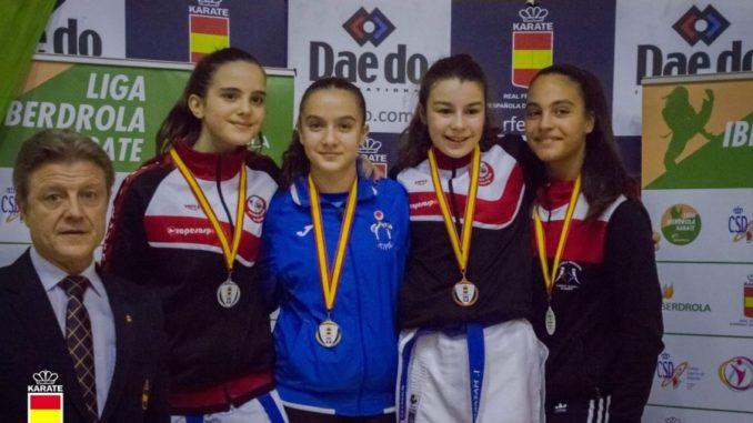 Cuatro medallas para el Kyoto Salamanca en la primera prueba de la Liga Nacional Infantil