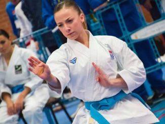 La karateca Lidia Rodríguez luchará este sábado por su primera medalla absoluta en el campeonato de España de karate