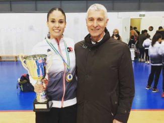 Lucía Roces consigue su 30º Campeonato de Asturias en categoría kata senior