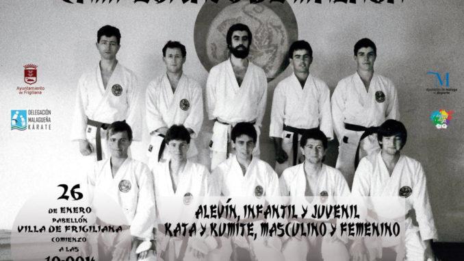 Campeonato de Málaga de Karate, el 26 de enero en Frigiliana