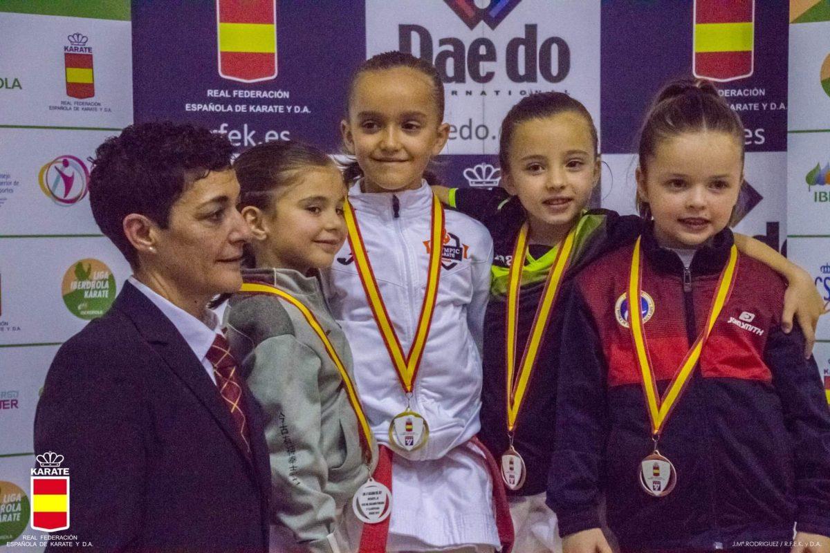 El Olympic Karate Marbella de nuevo Número 1 del Ranking Nacional