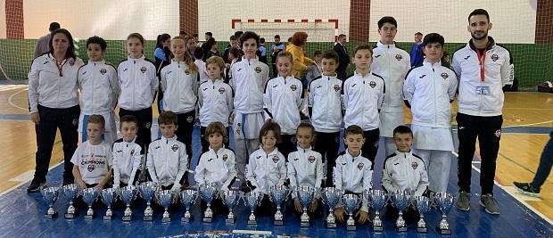 Olympic Karate Marbella consigue diecinueve medallas en el Campeonato de Málaga, siendo el más laureado de la provincia 0 (0)