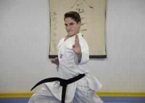 Raúl Martín Romero, campeón de la Karate 1 Youth League Venecia en categoría Kata Junior