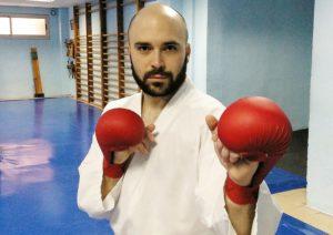 Raúl Porteros, del Gimnasio Osaka, seleccionado para el Campeonato de España de Kárate