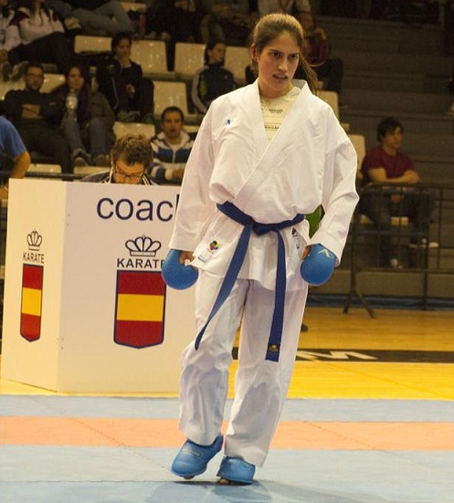 Ruth Lorenzo compite esta semana en el Open de Dubái de kárate