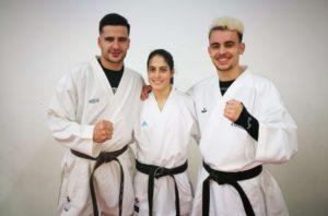 Tres karatecas del San Francisco Teo disputarán el Campeonato de España Sénior de Kárate
