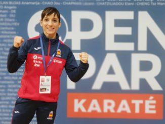 Sandra Sánchez y el equipo masculino, finalistas en París