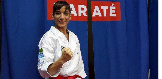 Sandra Sánchez, la 'chica de oro' de Talavera, logra una nueva medalla de plata en el Open de París
