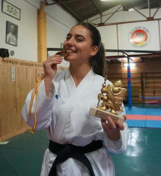 Sara García: Kárate como forma de vida