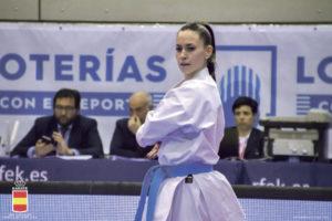Sheila Jorge Arribas, Campeona de España de Karate