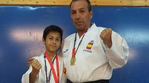 El karate le devolvió la vida Francisco Egea