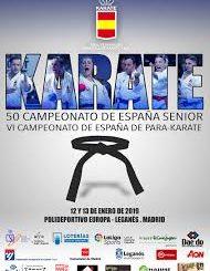 Campeonato de España Sénior de Karate