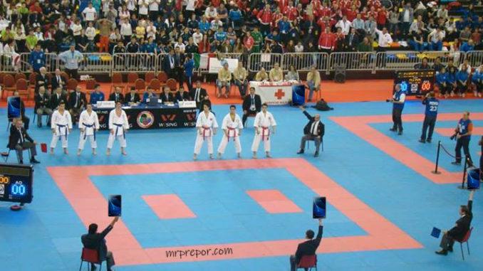 Las nuevas reglas del karate para Tokio 2020: tablets por banderas