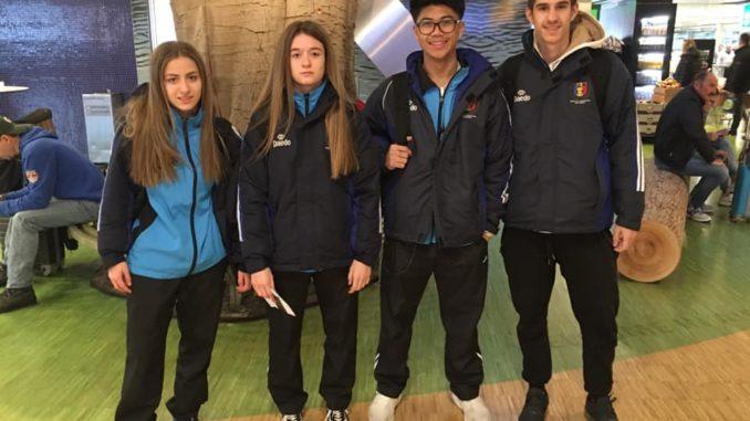Gana de podios de los representantes en el Europeo cadete y junior de karate