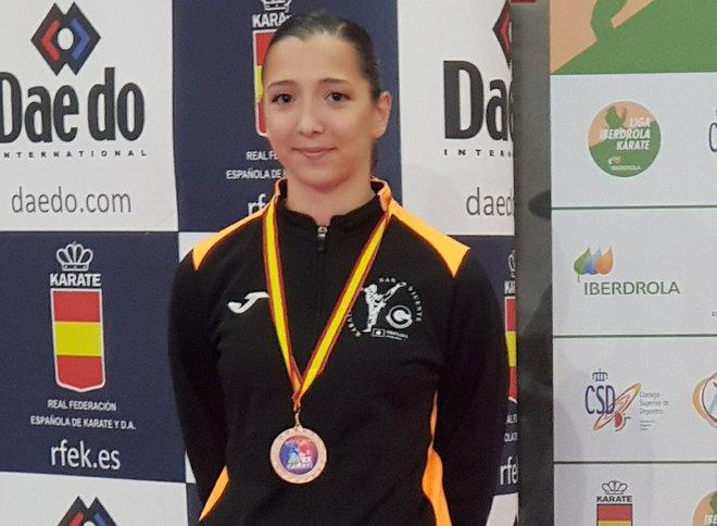 Carla Riestra, seleccionada para las series mundiales de Karate en Salzburgo 0 (0)