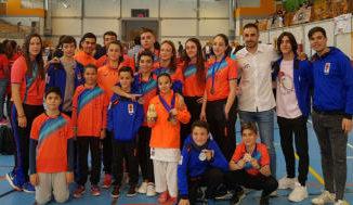 Siete medallas para el Club Shotokan Carrús de Elche en Liga Autonómica