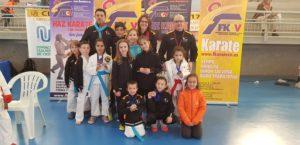 Ocho medallas para el Karate club San Vicente en la liga autonómica
