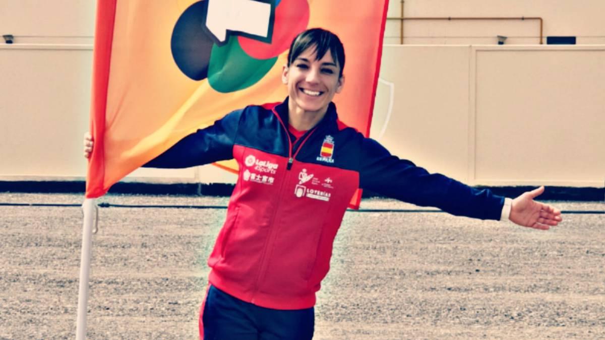 Sandra Sánchez no se cansa de ganar