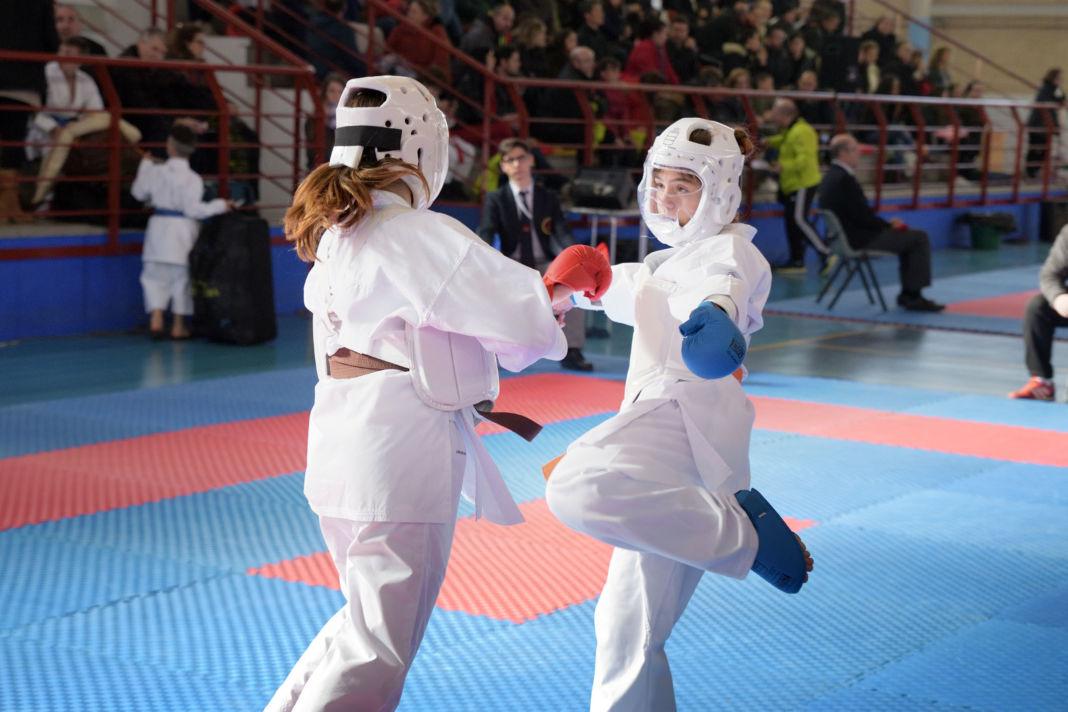 Argamasilla de Alba se convirtió en el epicentro del kárate regional en edad escolar