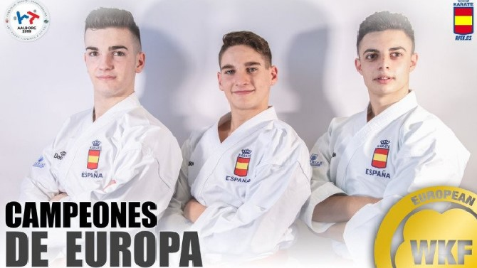 España cierra los Europeos de Karate con nueve medallas 0 (0)