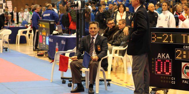 La federación regional de kárate reconoce a José Alonso Sobrino como mejor árbitro 0 (0)