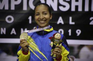 Aurimer Campos se llevó el oro ante el Panamericano de karate