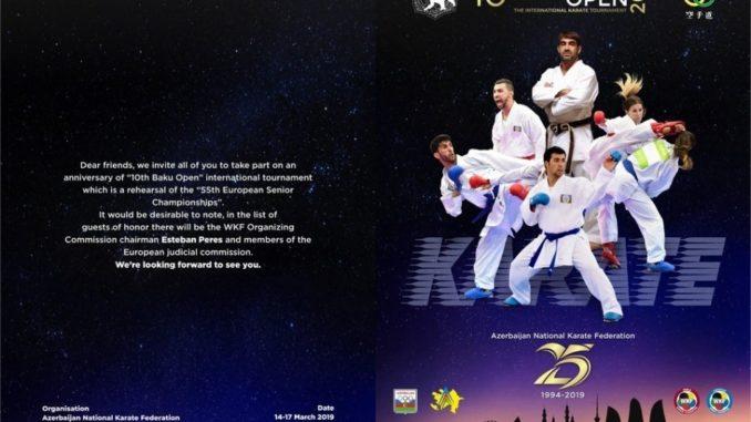 """Empieza el torneo internacional de karate """"Baku Open"""""""