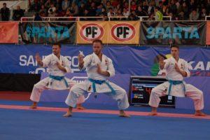 El karateca valenciano Pepe Carbonell busca su tercer oro europeo consecutivo