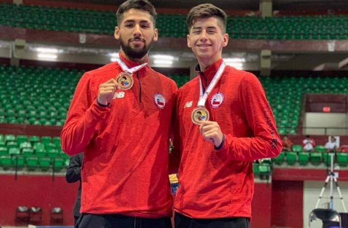Chile sigue sumando medallas en el Panamericano de Karate en Panamá