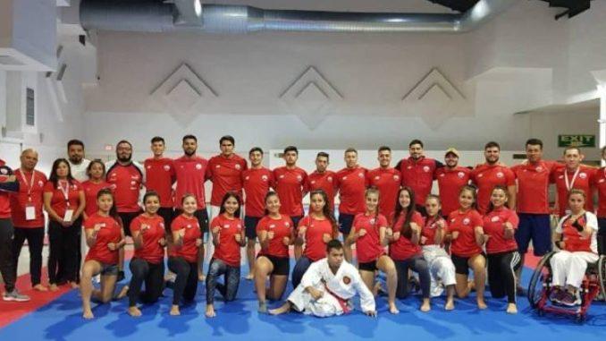 Chile obtuvo el quinto lugar en el Panamericano de Karate y Parakarate 2019