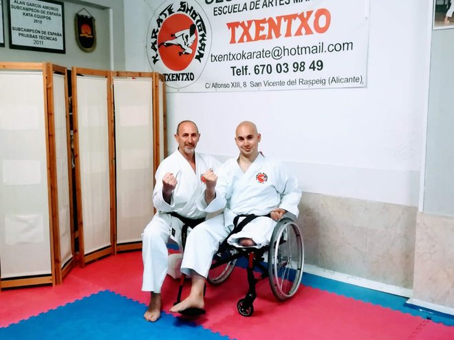 Juan Antonio Sepulcre participará en el Campeonato de Europa de Para-karate
