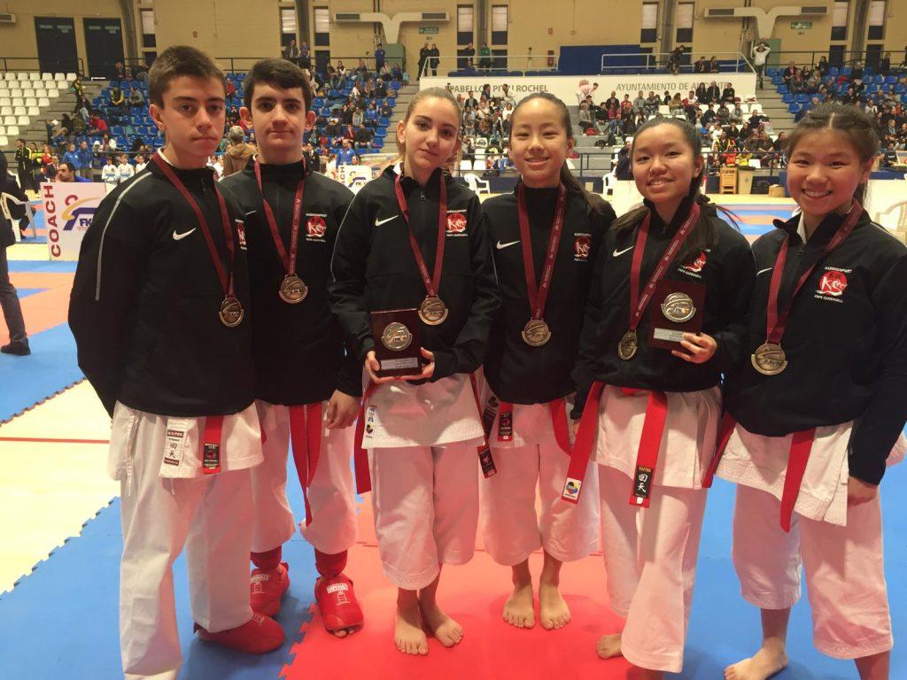 Lluvia de medallas para un CD Kazokusport que se clasifica para el Campeonato de España