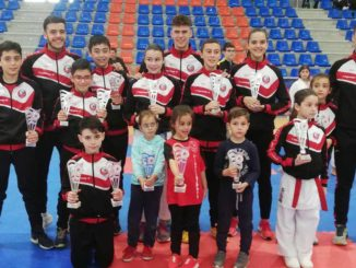 Rotundo éxito del karate salmantino en el regional infantil
