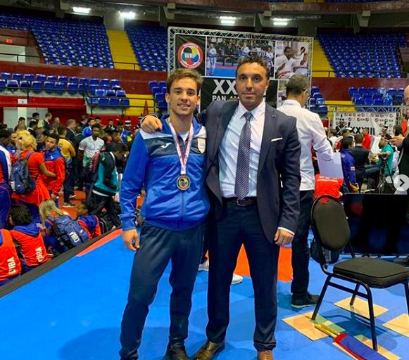 Maxi Larrosa ganó medalla de plata en Panamá
