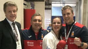 Laura Palacio peleará por el oro del Europeo en kumite