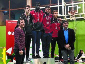 Markel Elorza, plata en el Campeonato de Euskadi de Karate sénior